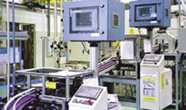 Eddy current test system for bearing spindle crack test installed in-plant